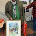 Premier prix jury peinture 18 2 Alain Riquier