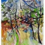 Premier prix jury peinture 18 Alain Riquier New